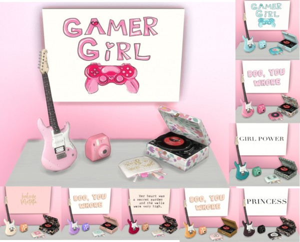 PQSims4: Girly Clutter