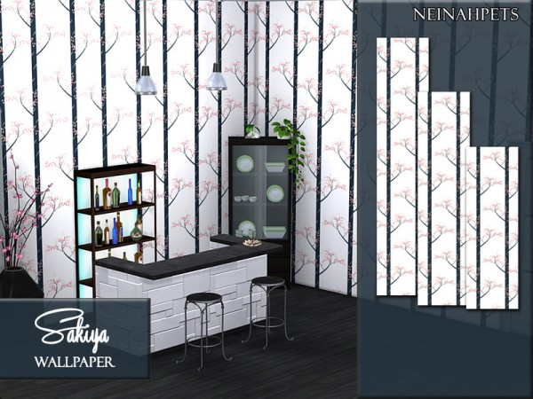 The Sims Resource: Sakiya Wallpaper Collection by neinahpets