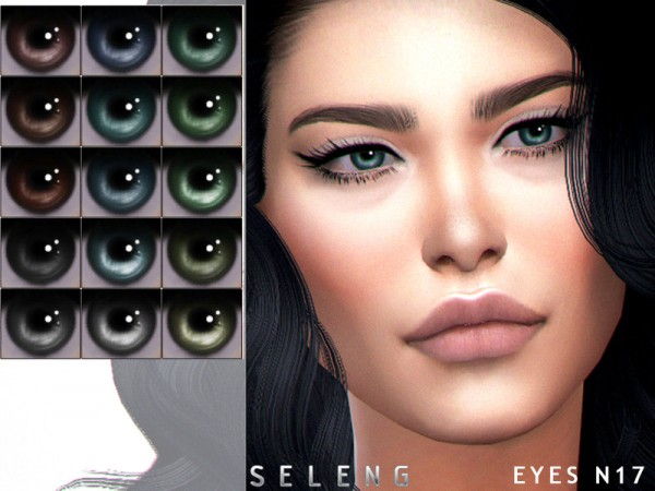 The Sims Resource: Eyes N17 by Seleng