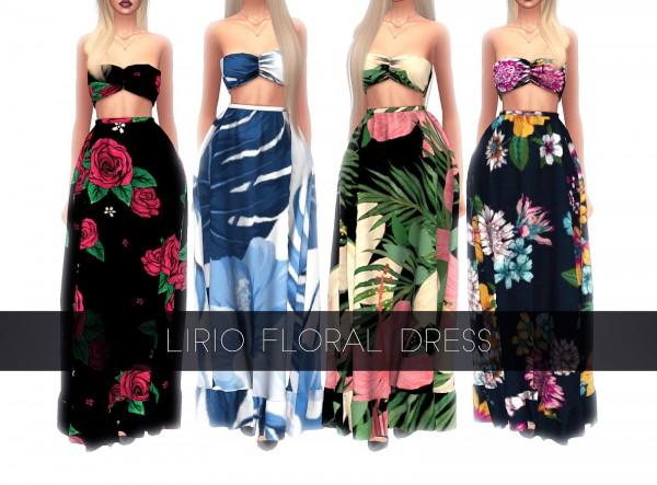 Kenzar Sims: Lirio Floral Dress