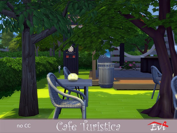 The Sims Resource: Cafe Turistica by evi