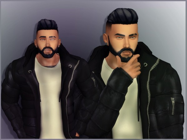 Sims Studio: Eric Hair by Mathcope
