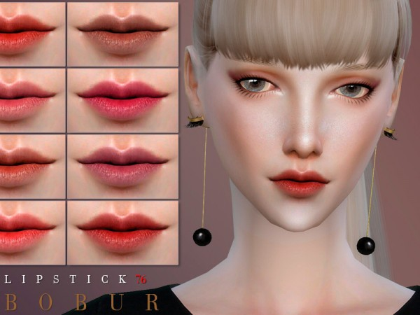 The Sims Resource: Lipstick 76 by Bobur3