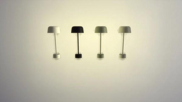 Meinkatz Creations: Lean Wall Lamp
