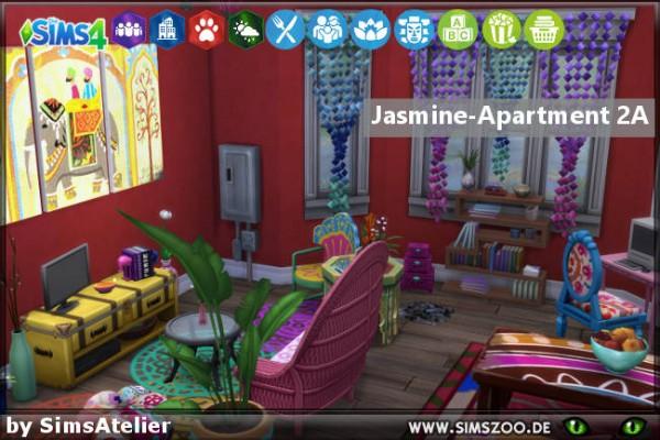 Blackys Sims 4 Zoo: Jasmine Apartment 2A  by SimsAtelier