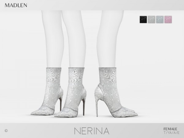 The Sims Resource: Madlen Nerina Boots by MJ95