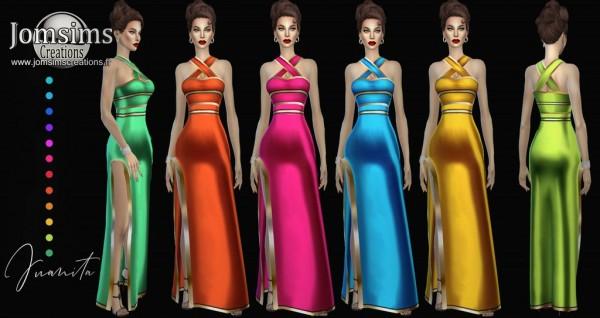 Jom Sims Creations: Juanita Dress