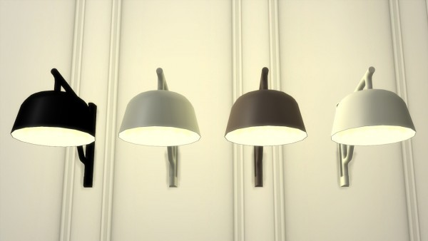 Meinkatz Creations: Ambit Wall lamp by Muuto