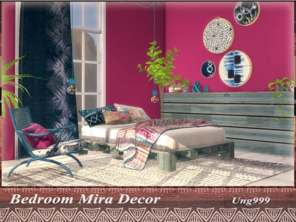 The Sims Resource: Bedroom Mira Decor by ung999