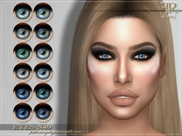 The Sims Resource: Eyes N49 by FashionRoyaltySims
