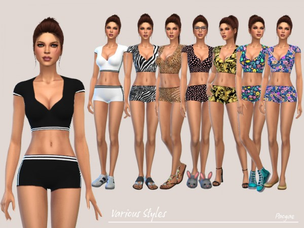 The Sims Resource: Various Styles by Paogae