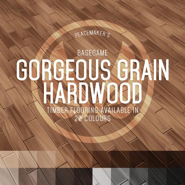 Simsational designs: Regular and Small Gorgeous Grain Hardwood Flooring