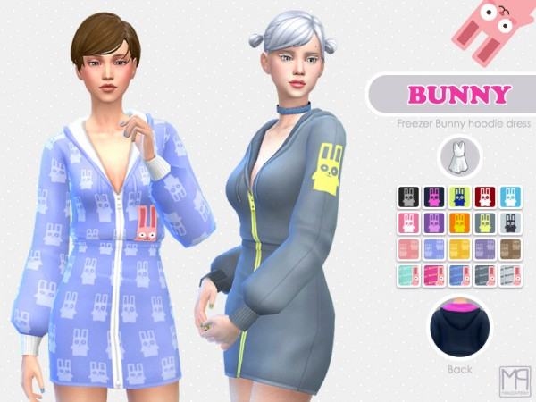 The Sims Resource: Bunny outfit by nueajaa