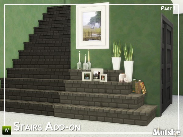 The Sims Resource: Stairs Add on Part 1by Mutske