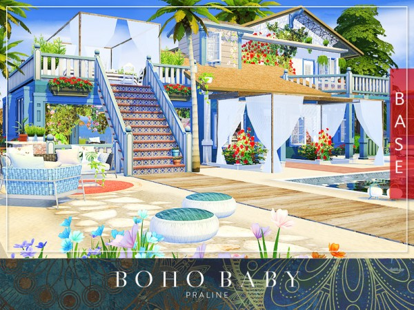 The Sims Resource: Boho Baby House by Praline Sims