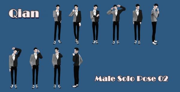 Qian: Male Solo Pose 02