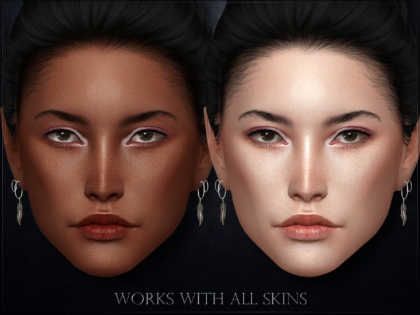 The Sims Resource: Winteri Eyeshadow V2 by RemusSirion