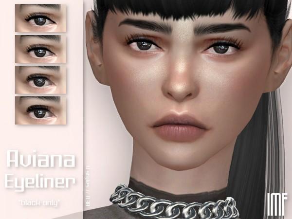 The Sims Resource: Aviana Eyeliner N.38 by IzzieMcFire