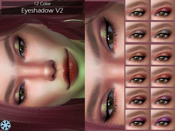 The Sims Resource: Eyeshadow V2 by Lisaminicatsims