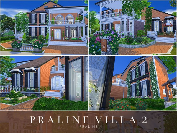 The Sims Resource: Villa 2 by Pralinesims