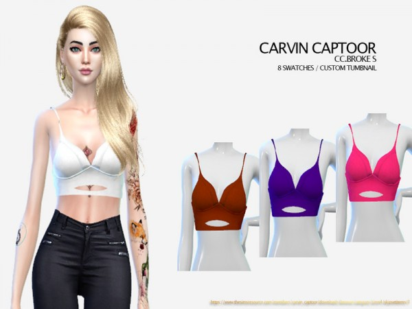 The Sims Resource: Broke S Top by carvin captoor