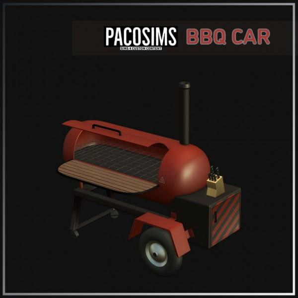 Paco Sims: BBQ CAR