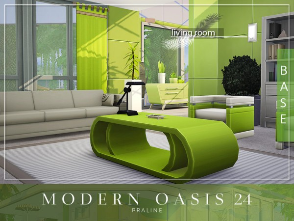 The Sims Resource: Modern Oasis 24 by Pralinesims