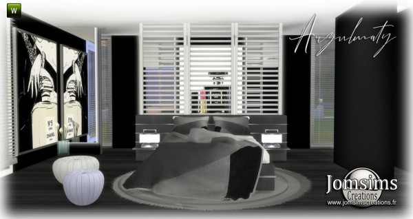 Jom Sims Creations: Arzulmaty bedroom