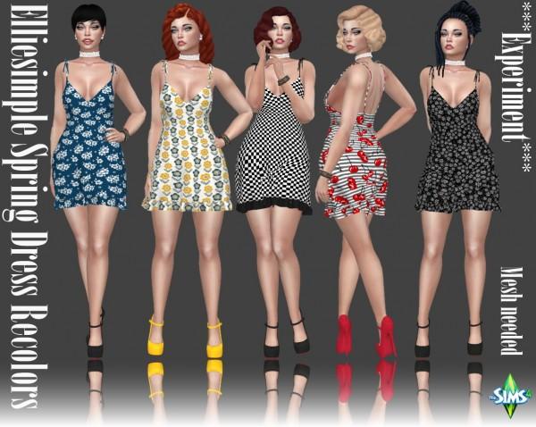 Annett`s Sims 4 Welt: Spring Dress Recolors