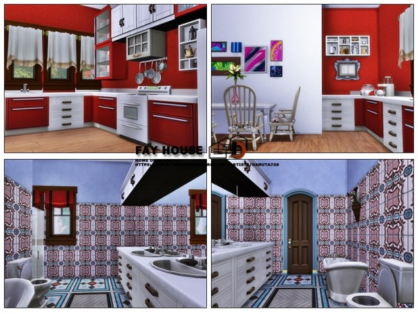 The Sims Resource: Fay house by Danuta720