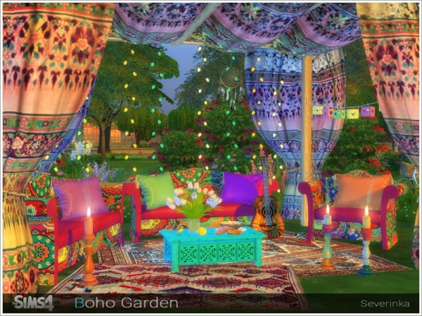 The Sims Resource: Boho Garden by Severinka