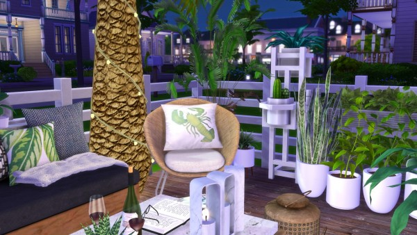 Models Sims 4: Green Balcony