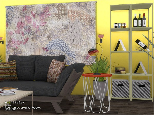 The Sims Resource: Rosalina Living Room by ArtVitalex