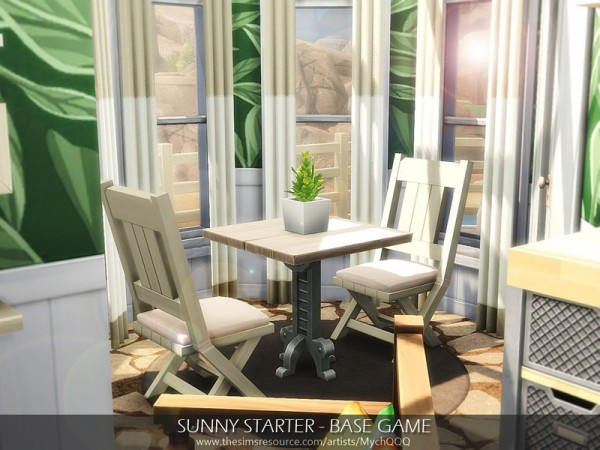 The Sims Resource: Sunny StarterHouse by MychQQQ