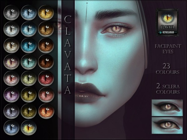 The Sims Resource: Clavata Eyes by RemusSirion