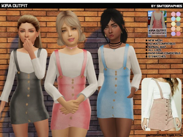 Simtographies: Kira Outfit