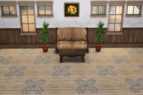 Blackys Sims 4 Zoo: Basic Floor Decorated 1 by sylvia60