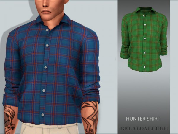 The Sims Resource: Hinter shirt by belal1997