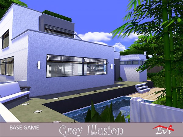 The Sims Resource: Grey illusion by evi