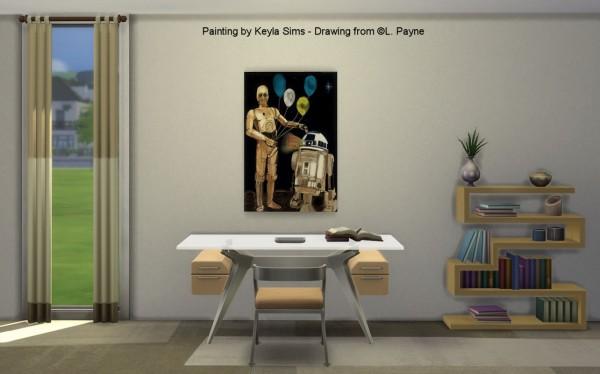 Keyla Sims: Paintings