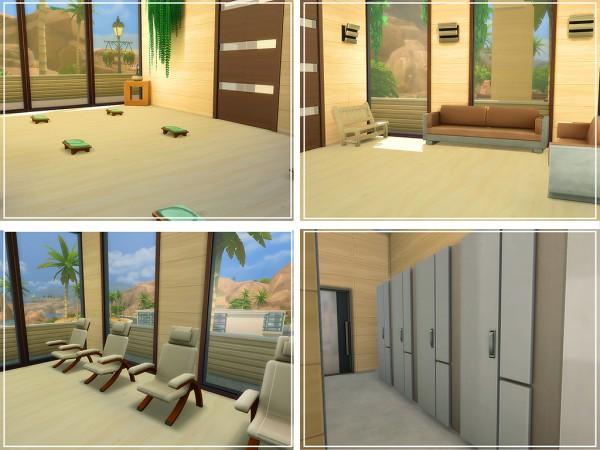 MSQ Sims: Oasis Modern Spa