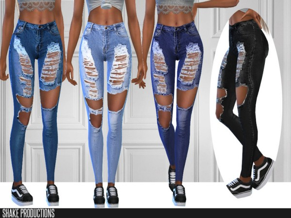 The Sims Resource: Jeans 285 by ShakeProductions
