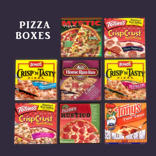 Leo 4 Sims: Pizza Boxes