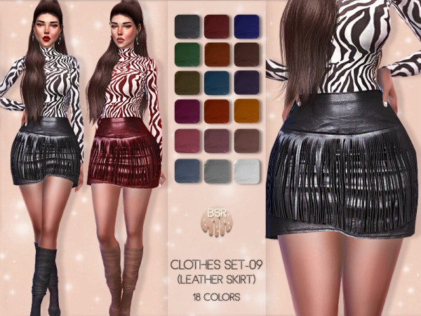 The Sims Resource: Clothes SET 09 by busra tr