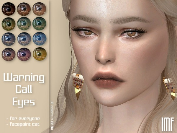 The Sims Resource: Warning Call Eyes N.94 by IzzieMcFire