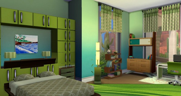 Luniversims: Strange Colors House by Coco Simy