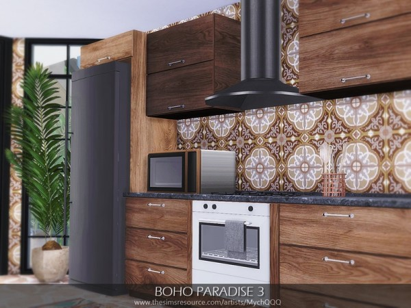 The Sims Resource: Boho Paradise House 3 by MychQQQ