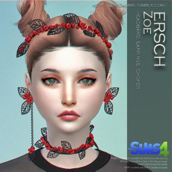 ErSch Sims: Zoe Set