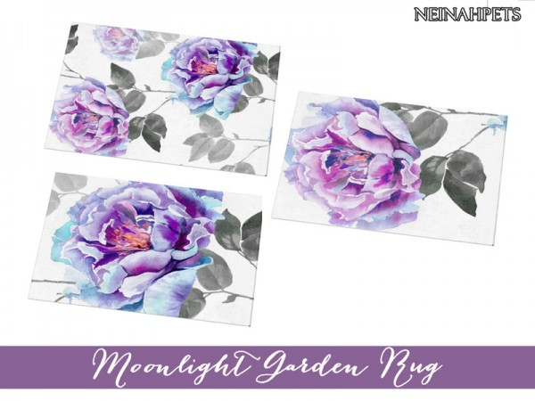 The Sims Resource: Moonlight Garden Bedroom Collection by neinahpets