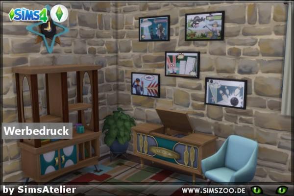 Blackys Sims 4 Zoo: Werbedruck by SimsAtelier